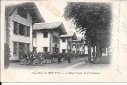 37 - METTRAY - Colonie - Le Départ Por La Promenade - Mettray