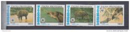 Nicaragua YV PA 1123/5 N 1985 WWF Tapir - Unused Stamps
