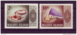 Maldives YV 176 Et 184 N 1996 Coquillages - Muscheln