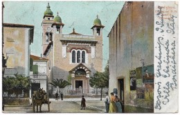 Bordighera Chiesa Dei RR Padri Di Terrasanta - Albertieri - Postmark 1902 - Imperia