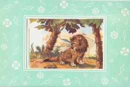 LION        H6         Le Lion Et Le Rat ( La Fontaine ) - Lions