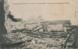 CRAVANT - Le Cyclone De Cravant - 3 Juillet 1905 - Ruines Sur Le Passage Du Cyclone - France