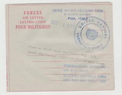 Can092 /  KANADA - UN-Emergency Force, Kanadisches Kontingent In Yemen 1963 - 1952-.... Regno Di Elizabeth II