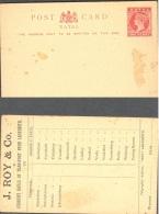 NATAL, 1891 1d Red Postcard, Advertisment On Back, Fine - Zuid-Afrika (...-1961)