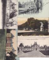 150 CPM Et CPSM De Châteaux De France. - Cartoline