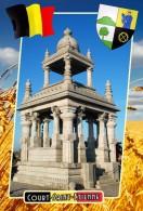 Postcard, Municipalities Of Belgium, Court-Saint-Etienne, Walloon 28 - Cartes Géographiques