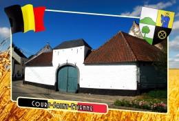 Postcard, Municipalities Of Belgium, Court-Saint-Etienne, Walloon 29 - Cartes Géographiques