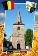 Postcard, Municipalities Of Belgium, Court-Saint-Etienne, Walloon 31 - Cartes Géographiques
