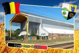 Postcard, Municipalities Of Belgium, Court-Saint-Etienne, Walloon 32 - Cartes Géographiques