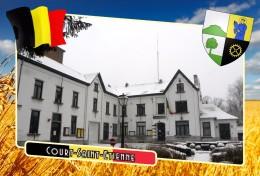 Postcard, Municipalities Of Belgium, Court-Saint-Etienne, Walloon 33 - Cartes Géographiques
