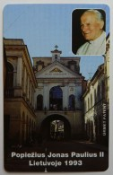 LITHUANIA - Urmet - 1993 Pope Giovanni Paolo II - 25 Units - Mint - Lituania