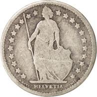 Suisse, Franc, 1876, Bern, B+, Argent, KM:24 - Suisse