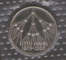 GERMANIA 5 DEUTSCHE MARK 1979 OTTO HAHN 1879 - 1968 AG SILVER - [10] Commemorative