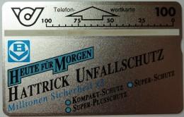 AUSTRIA - L&G - Specimen - Hattrick Unfallschutz - MINT - Austria