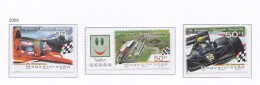 HONGRIE 2005 COURSE AUTOMOBILE CIRCUIT 4070 4071 4074 BLOC288 MNH - Nuovi