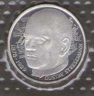 GERMANIA 5 DEUTSCHE MARK 1978 GUSTAV STRESEMANN AG SILVER - [10] Commemorative