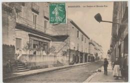 BESSEGES (30) - LE CASINO ET GRANDE RUE - Bessèges