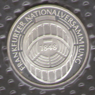 GERMANIA 5 DEUTSCHE MARK 1973 FRANKFURTER NATIONALVERSAMMLUNG AG SILVER - [10] Commemorative