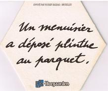 """Lot De 6 Sous-bocks Hoegaarden Ayant Participé Aux Concours """"idées"""" De 1994 Et 1995 - Sous-bocks"""