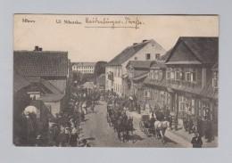 AK Polen MLAWA 1915-02-09 Fedlpost Ul Niborska - Pologne