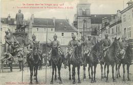 88 - SAINT DIE - La Cavalerie Allemande - Place Jules Ferry - Saint Die