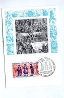 Carte Maximum Fdc 1971 Versailles Etats Generaux - Maximum Cards