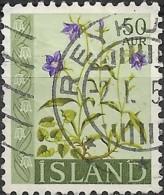 ICELAND 1960 Wild Flowers - 50a. - Campanula  FU - 1944-... Republique