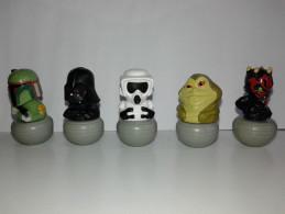 Sor170 N5 Star Wars Guerre Stellari George Lucas Rollinz Esselunga Lotto Stock Collezione Disney Lato Oscuro Della Forza - Power Of The Force