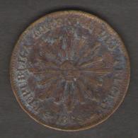 URUGUAY 1 CENTESIMO 1869 - Uruguay