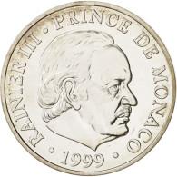 Monaco, Rainier III, 100 Francs, 1999, Paris, SPL, Argent, KM:175 - 1960-2001 New Francs