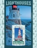 SOLOMON Isl. 2016 - Lighthouses, S/S - Vuurtorens