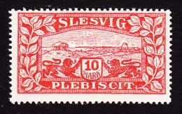 Schleswig, German Plebiscite, Scott #14, Mint Never Hinged, View Of Schleswig, Issued 1920 - Schleswig-Holstein