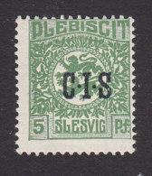 Schleswig, German Plebiscite, Scott #O2, Mint Hinged, Arms Overpritned, Issued 1920 - Schleswig-Holstein