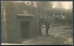 1917 Germany WW1 Troops RP Postcard - Weltkrieg 1914-18