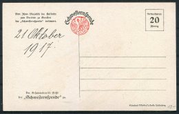 1917 Germany Patriotic Postcard / Schweftern-Spende - Patriotic