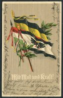 1916 Germany Patriotic Flags Postcard - Patriotic