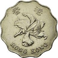 Monnaie, Hong Kong, Elizabeth II, 2 Dollars, 1993, TTB, Copper-nickel, KM:64 - Hong Kong