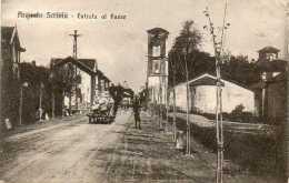 CPA - ARQUATA SCRIVIA (Italie-Piemonte) - Entrata Al Pavese : 1918 - Otras Ciudades