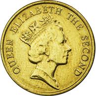 Monnaie, Hong Kong, Elizabeth II, 10 Cents, 1990, TTB+, Nickel-brass, KM:55 - Hong Kong