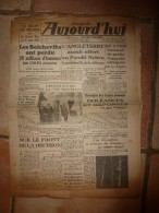 1942 Journal Raciste  AUJOURD'HUI :Jacques Doriot à Troyes évoque La Noble Tâche De Ses Légionnaires; - Giornali