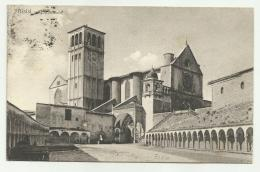 ASSISI S.FRANCESCO 1923   VIAGGIATA  FP - Perugia