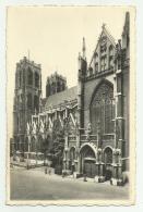 BRUXELLES EGLISE Ste. GUDULE FACADE LATERALE  VIAGGIATA FP - Monuments