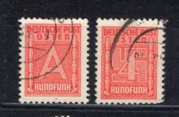 GG RUNDFUNKMARKE 1+2 LUXUS Gest. 30EUR (74030 - Besetzungen 1938-45