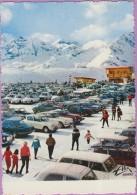 31 °° Luchon-Superbagnères - Le Parking Sur Le Plateau DS Années 60 - Dentelée écrite 1967 - Superbagneres