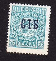 Schleswig, German Plebiscite, Scott #O10, Mint Hinged, Arms Overprinted, Issued 1920 - Schleswig-Holstein