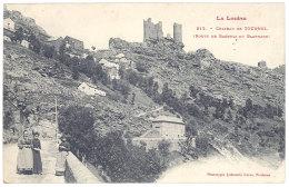 Cpa Château De Tournel ( Route De Bagnols Au Blaymard ) - France