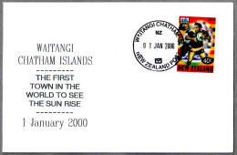 WAITANGI - First Town In The World To See The Sun Rise - Cambio De Milenio. Change Of Millenium. Waitangi 2000 - Relojería