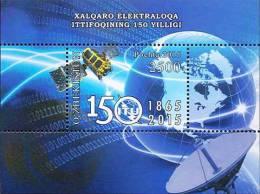 Uzbekistan 2016 150th Anniversary Of International Communication Union Space SS MNH