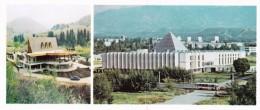 Kazakhstan - Alma Ata Almaty - Restaurant Samal - Trans-Ili Alatau Mountains -  Printed 1980 - 20.9x8.9 Cm - Kazakhstan