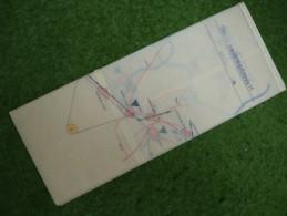A4113) DDR NVA Armee-Karte Für Manöver Um 1979 Raum Schönebeck Handgezeichnet